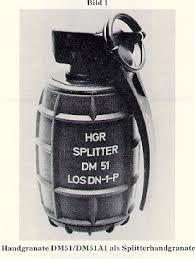 Resultado de imagen para granadas bomba