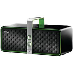 Hercules Portable Bluetooth Speaker - Retail Packaging - Black/Green >>> You can get additional details at the image link. (This is an affiliate link) #BluetoothSpeakers