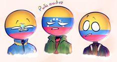Read from the story ✍🎨 《Ecuador Drawings 》🎨✍ by with 357 reads. Ecuador, Heart Meme, Mundo Comic, Country Men, Hetalia, My Childhood, Kawaii Anime, Tweety, Chibi