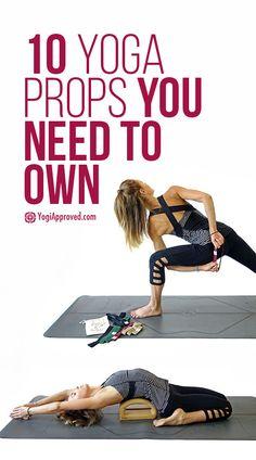 10 Yoga Props You Actually Need