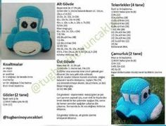 Amigurumi oyuncak mavi araba modeli yapılışı anlatımlı