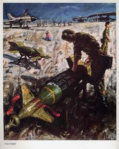 Gulf War ART BOOK John Keane Contemporary Artist American Army Soldiers Marines British Battles 1990s Middle East via Etsy