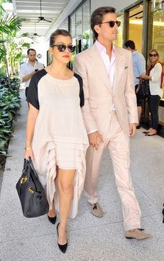 Stylish Couple Alert! ... Kourtney and Scott // Twitter