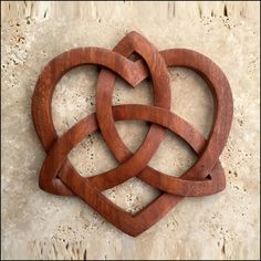 Celtic Heart and Triquetra - Celtic, Viking and Lamp Woodcraft Carvings Wood Carving Designs, Wood Carving Patterns, Wood Carving Art, Wood Patterns, Wood Art, Celtic Patterns, Celtic Designs, Celtic Symbols And Meanings, Mayan Symbols