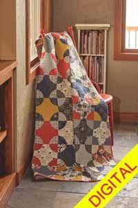 All That Glitters Quilt Pattern from ShopFonsandPorter.com