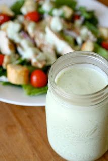 Protein Ranch Dressing- 55 calories for 1/4 CUP!!! (Yes, you read that correctly) It tastes just like REGULAR, you won't know the difference!!!! Cottage Cheese, Ranch packet, water/milk -- only 3 ingredients!