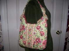 Olivia's Flower Garden Handbag Pdf Pattern and Tutorial