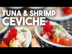 Shrimp and Tuna CEVICHE - Easy and quick recipe for New Year's Eve - YouTube