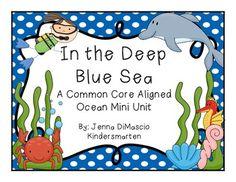 In the Deep Blue Sea {CC Aligned Ocean Unit - ELA & Math)