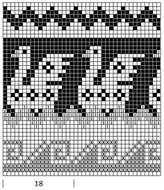 Mustrilaegas: A Kudumine / Knitting Filet Crochet Charts, Crochet Cross, Crochet Stitches Patterns, Knitting Charts, Knitting Patterns, Cross Stitch Bird, Cross Stitch Borders, Cross Stitch Designs, Cross Stitch Patterns