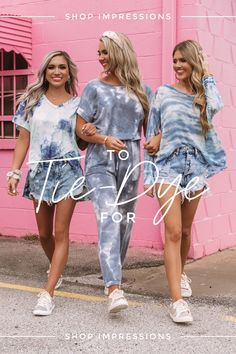 Shop The Tie-Dye Collection Now & Stay Home in Style💛 Tie Dye Outfits, Fall Outfits, Summer Outfits, Cute Outfits, Fashion Outfits, Emo Fashion, Moda Tie Dye, Tie Dye Shirts, Band Shirts
