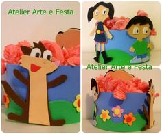 Enfeite Show da Luna #atelierarteefesta #showdaLuna #Luna #festainfantil #festaLuna