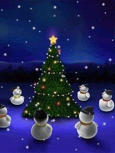Animated wallpaper, screensaver for cellphone Christmas Tree Scent, Merry Christmas Gif, Holiday Gif, Whimsical Christmas, Christmas Scenes, Christmas Pictures, Christmas Colors, Christmas Snowman, All Things Christmas