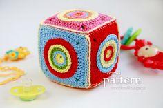 Crochet Pattern - Soft Toy Cube