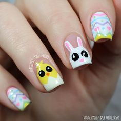 Mix & Match Easter Nails | NailsByErin