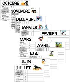 Le loup - Le calendrier 2015/2016