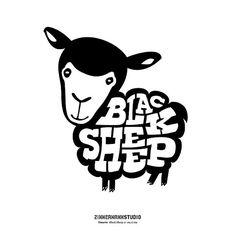BLACK SHEEP LOGO by Zimmermann Studio, via Flickr