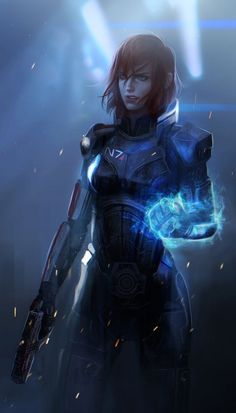 Shepard by Miriam Soriano : masseffect