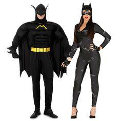 Déguisements Batman et Catwoman #déguisementscouples #nouveauté2016