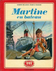 Martine en bateau, by Gilbert DELAHAYE