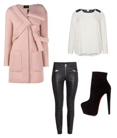 """""""Untitled #22"""" by sara-i-consulting on Polyvore featuring JunaRose, Christian Louboutin, Simone Rocha, women's clothing, women, female, woman, misses, juniors and plus size clothing"""