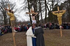 The Calvary of Wejherowo - Stations of the Cross and passion plays