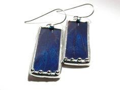 Real Butterfly Jewelry  Blue Morpho Butterfly Wing by lonesomehobo, $42.00