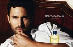 Noah Mills Stars in Dolce & Gabbana's Pour Homme Fragrance Campaign