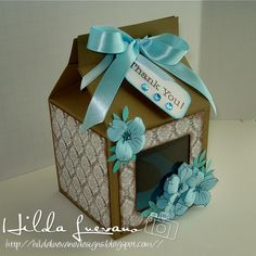 Tutorial Caja Cupcake Dogwood Branch Patties Creations