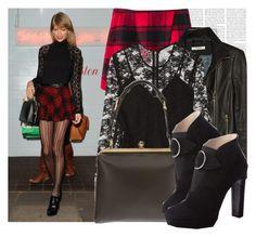 """Dress like Taylor Swift"" by megi32 ❤ liked on Polyvore featuring Chicnova Fashion, J Brand, Burberry, Dolce&Gabbana and Prada"