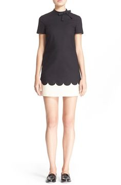 RED VALENTINO A-Line Dress. #redvalentino #cloth #