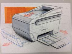 Printer sketching