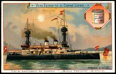 "Liebig S502 Warships ~ Austria ""Maria Theresia""   by cigcardpix"