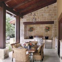 Awesome Yard and Outdoor Kitchen Design Ideas 36