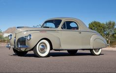 1940 Lincoln Zephyr Three-Window Coupe - (Ford Motor Company, Lincoln Motor Car Co. Division, Detroit, Michigan 1914-present)