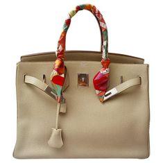 b8f944059c74 Hermes Birkin 35 leather handbag Hermes Bags