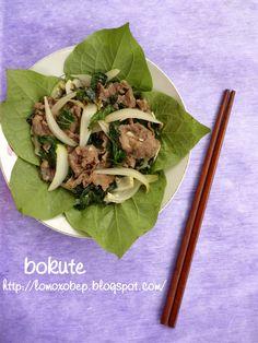 Thịt bò xào lá lốt - http://lomoxobep.blogspot.com/2011/08/thit-bo-xao-la-lot.html