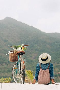 Mountains are Calling: Woman Ready for a Bike Adventure ….by Lumina Mountains are Calling: Woman Ready for a Bike Adventure ….by Lumina Foto Poster, Photo Instagram, Simple Pleasures, Adventure Is Out There, Retro, Belle Photo, Photography Poses, Beauty Photography, Travel Photography