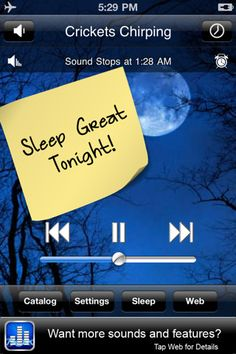 """White Noise App for the iPhone: We could not have lived without this. Addie was a fan of the """"heavy rain"""" in particular. I know you can get sound machines pretty cheap these days, but this was small and could go with her everywhere she went."""