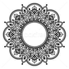 Сток-фото: кружево · индийской · хна · татуировка · дизайна · шаблон