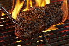 oksefilet på weber grill BBQ sous vide