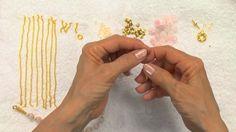 Golden Rose Beaded Jewelry Tutorial