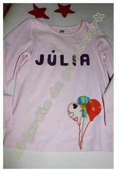 Camiseta globos personalizada