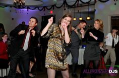We love making people dance! Fun at a holiday party - All Events DJs