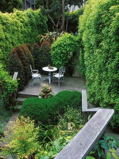 Solutions for Landscaping an Awkward Yard --> http://www.hgtvgardens.com/photos/landscape-and-hardscape-photos/one-answer-for-an-awkward-yard-a-multilevel-garden?soc=pinterest&soc=1