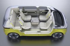 Volkswagen ID Buzz Concept : le Combi en mode électrique et autonome - Photo #16 - L'argus