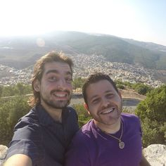 On Tabor mouitain with beduin village in background | Na táborské hoře v pozadí beduinská vesnice #roadtrip #fun #travel #israel #adventure #hittheroad #pic #pictureoftheday #havefun #wow #happy #smile #food #love #czech #czechboy #czechgirl