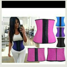9 STEEL BONING LATEX WAIST TRAINER TOP QUALITY... 9 STEEL BONING!! 3 Hooks. L?tex waist trainer corset 100% Rubber waist corset!!! PLEASE ALWAYS DOUBLE CHECK SIZE CHART BEFORE BUYING..!! PLEASE ASK ME BEFORE BUYING! !!  COMES IN 4 COLORS  BLACK.  PINK.  PURPLE. BLUE  ALL COME IN XS SMALL. MEDIUM. LARGE . XL XXL XXXL. .. ALL SIZES AND COLORS AVAILABLE. .  IF YOU WANT TO BUY THIS ?TEM JUST BUY THIS POST AND COMMENT THE SIZES AND COLOR YOU WANT.. SHIP SAME OR NEXT DAY!!  want to buy wholesale…