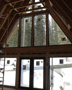Trio 150, Colorado A Frame House, Affordable Housing, Kit Homes, My House, Colorado, Cabin, Windows, Vacation, Building