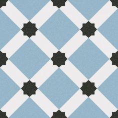 płytki vives Palau Celeste 1900 20x20 niebieskie patchworki do łazienki dekoracyjne kolorowe